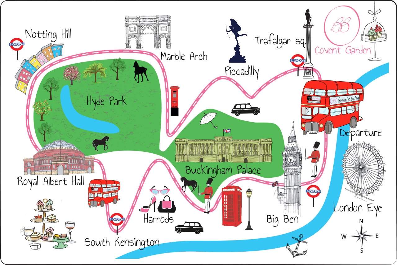 Places To Visit In London Map – Map Of London Tourist Sites