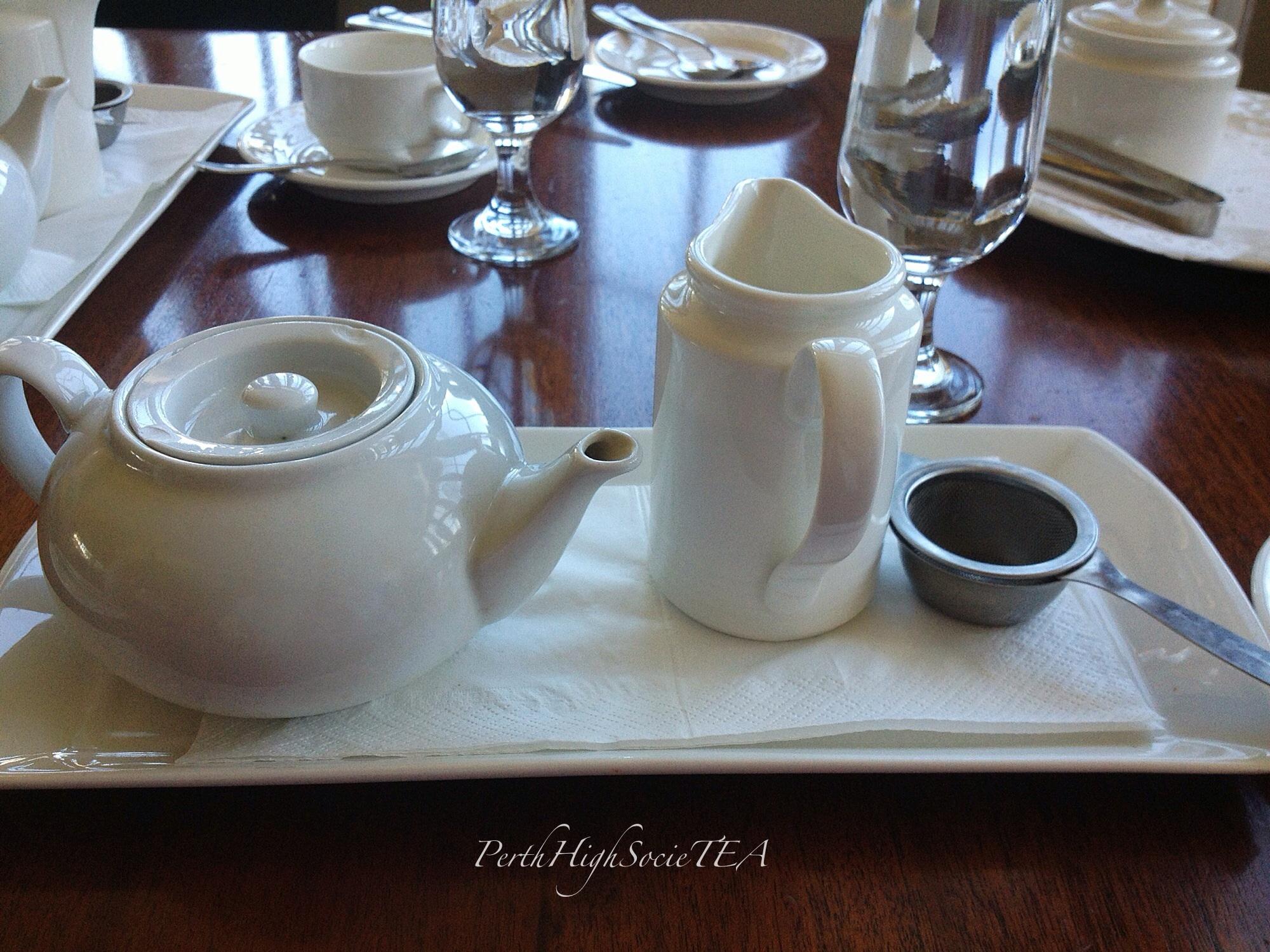 Hobnob Cafe Hi Tea Menu